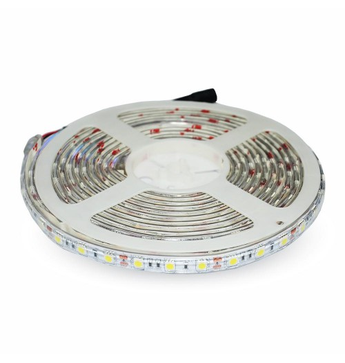 LED juosta V-TAC 12V 10.8W/m 60LED/m 3000K 92lm/W IP65