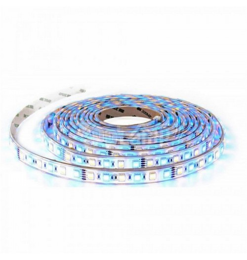 LED juosta V-TAC 12V 10.8W/m 60LED/m RGB+WW 83lm/W IP20