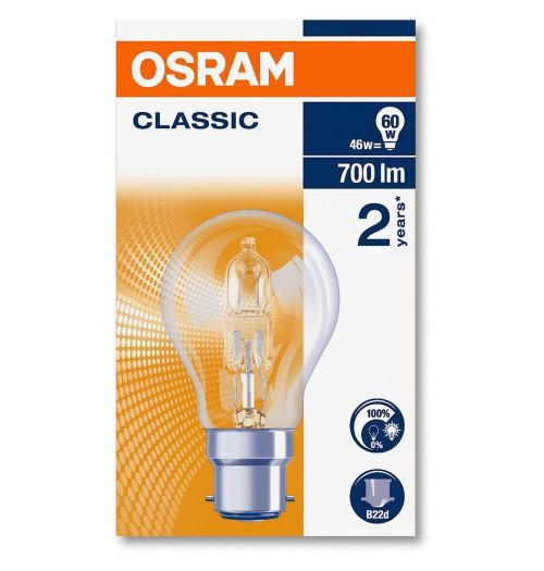 Halogeninė lemputė B22 46W OSRAM