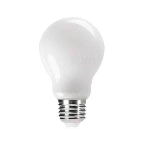 Lemputė LED FILAMENT Kanlux XLED E27 A60 4.5W 2700K 470lm mat. stiklas