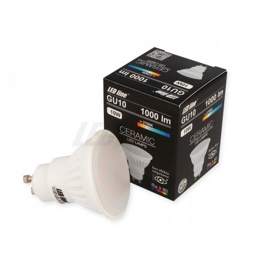 Lemputė LEDLINE GU10 10W 2700K