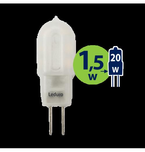 Lemputė LEDURO LED G4 12V 1.5W 3000K