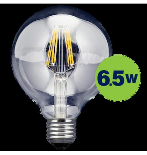 Lemputė LEDURO LED FILAMENT E27 G95 6.5W 3000K