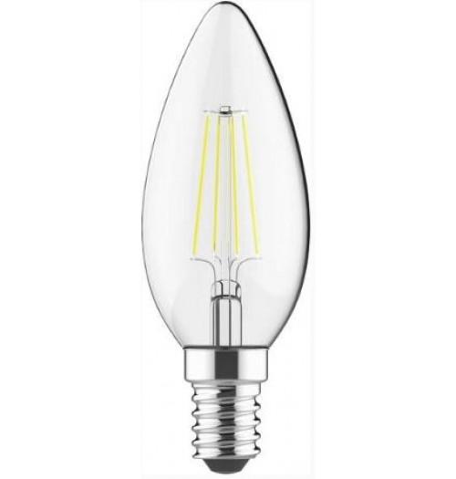 Lemputė LEDURO LED FILAMENT E14 C35 4W 3000K 400lm