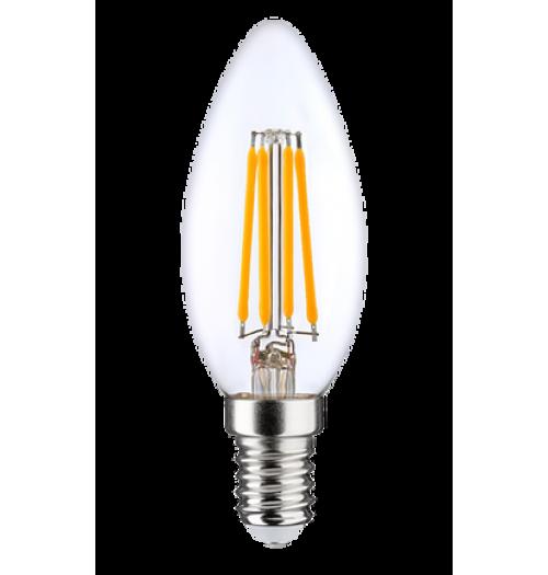 Lemputė LEDURO LED FILAMENT dimeriuojama E14 C35 6W 3000K 810lm