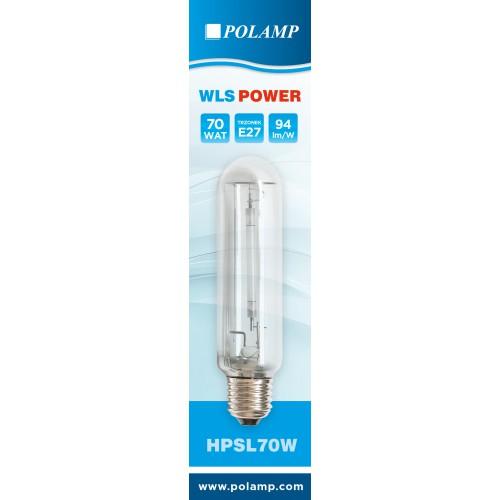 Aukštaslėgė natrio lempa E27 70W 620 6580lm Polamp