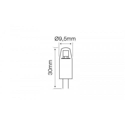 Lemputė LEDLINE LED G4 1.5W 6000K 120lm (10-18V AC/DC)