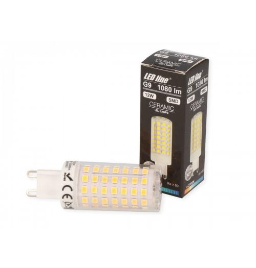 Lemputė LEDLINE LED G9 12W 2700K 1080lm