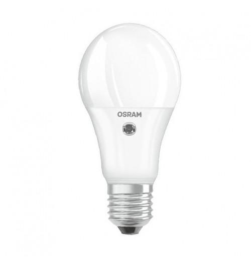 Lemputė OSRAM PARATHOM+ LED E27 A60 8.5W 2700K 806lm su fotorele