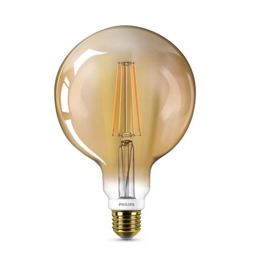 Lemputė PHILIPS LED E27 G120 7W 2200K dimeriuojama