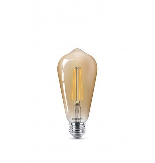 Lemputė PHILIPS LED E27 ST64 7W 2200K dimeriuojama