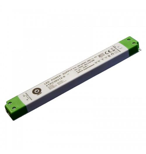 Maitinimo šaltinis SLIM FTPC-30-12S 12V 2.5A IP20 POS