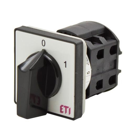 Panelinis perjungiklis 0-1 ETI 3P 25A