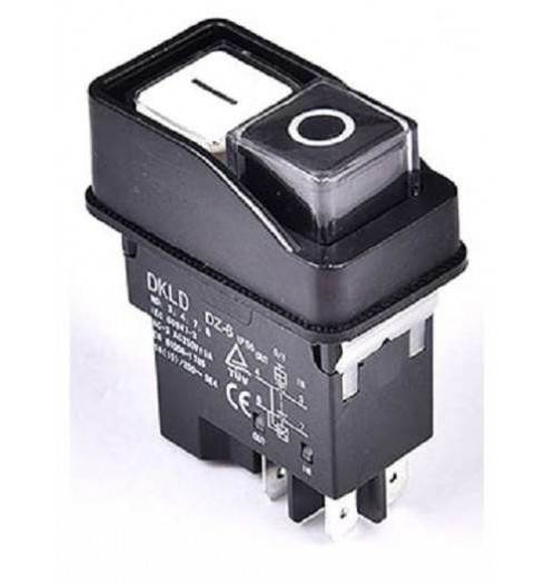 Variklio paleidimo jungiklis DKLD DZ-6 230V AC 15A 2NO (4 PIN)
