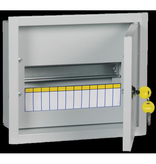 Metalinis įleidžiamas paskirstymo skydelis IEK ŠRV 12 mod. IP31