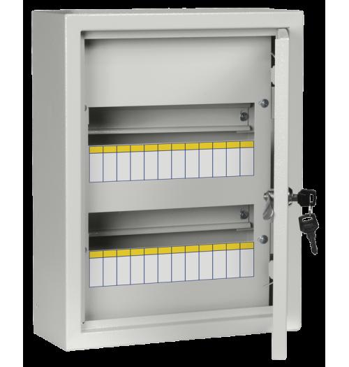 Metalinis paviršinis paskirstymo skydelis IEK ŠRN 24 mod. IP31