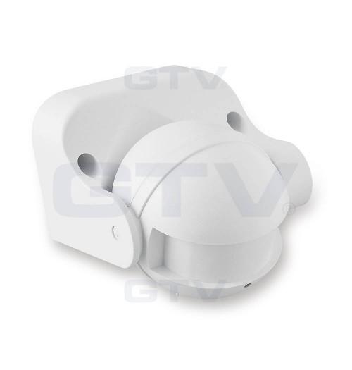 Mikrobangų judesio daviklis 180° baltos sp.