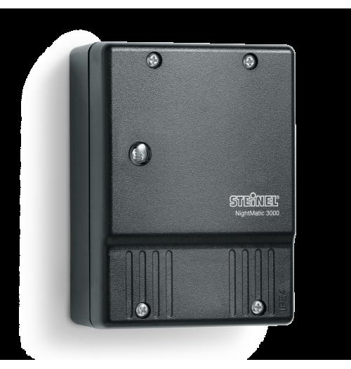 Fotorelė Steinel NightMatic 3000 Vario juodos sp. su atjungimo funkcija