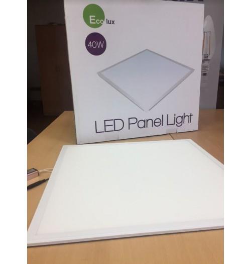 LED biuro šviestuvas Ecolux 595x595mm 40W 4000K 3500lm