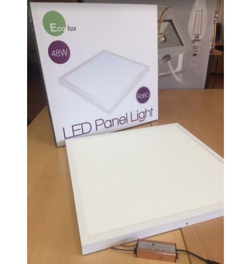 Virštinkinio montavimo LED biuro šviestuvas Ecolux 600x600mm 48W 4000K 4200lm