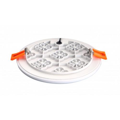 Berėmė LED panelė 10W 3000K 800lm IP65/20 apvali LEDLIFE LPFR