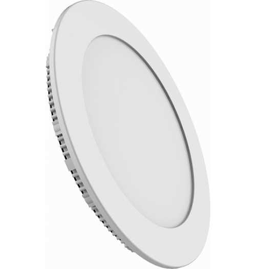 LED panelė LEDURO ULTRASLIM 12W 3000K IP20 810lm apvali