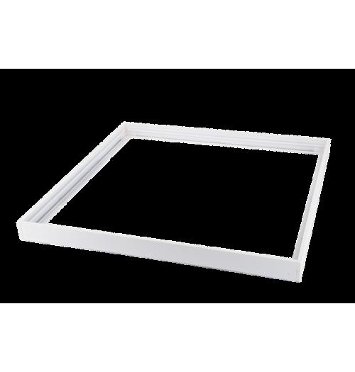 Paviršinio montavimo rėmelis 600x600x43 LEDURO baltas matinis