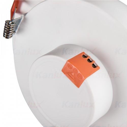 LED panelė Kanlux LITEN LED 6W 3000K IP20 390lm apvali